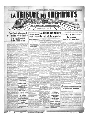 La Tribune des cheminots, 1936-1939