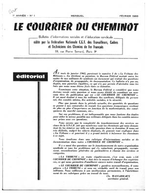 Le Courrier du cheminot